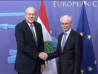 Meeting with the Prime Minister of Libanon, Najib MIKATI