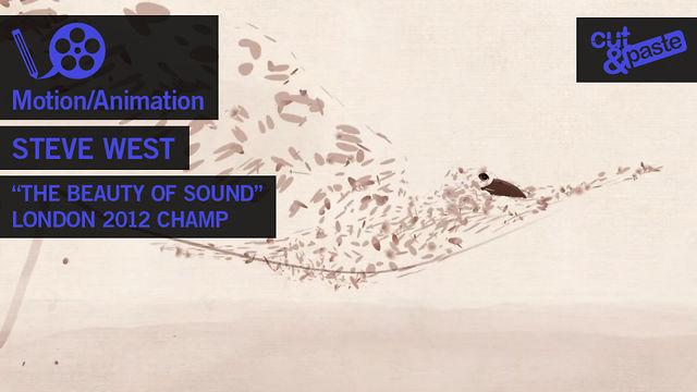 Steve West - C&P London 2012 Motion/Animation CHAMPION