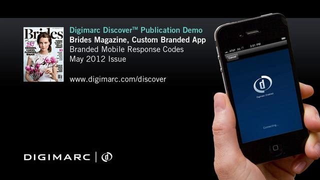 Brides Magazine - Digimarc Discover Example