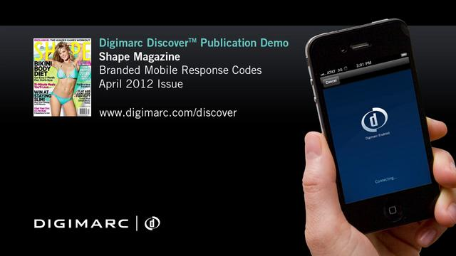 Shape Magazine - Digimarc Discover Example