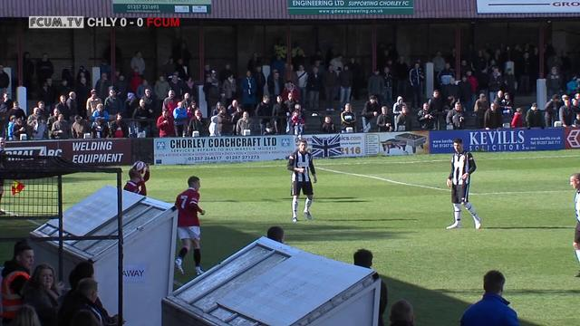 Chorley 0 - 1 FC United [NPL Play-off Semi Final 28/04/2012]