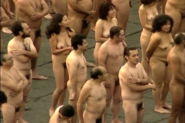 Spencer tunick naked people curious