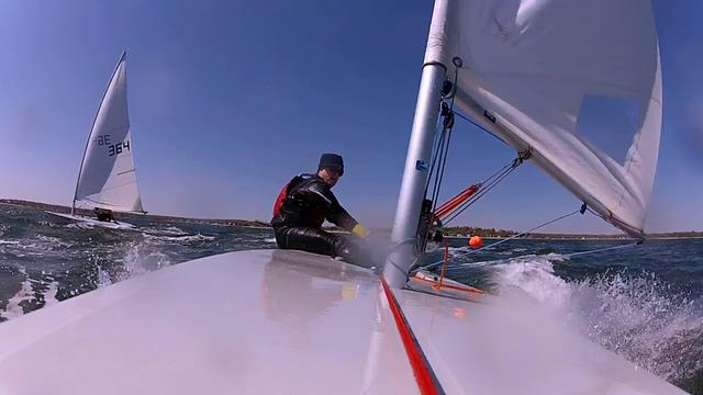 Laser Sailing Connecticut Long Island Sound Marc Jacobi