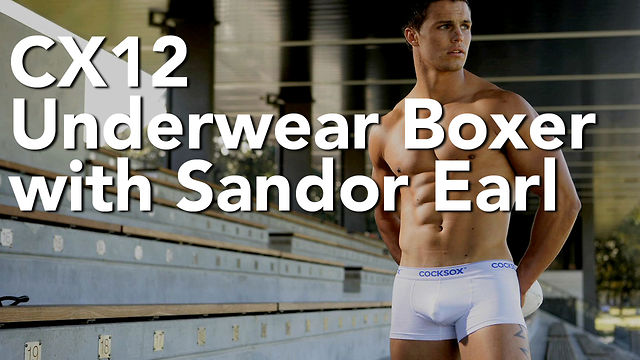 Cocksox® CX12 Boxer on Sandor Earl