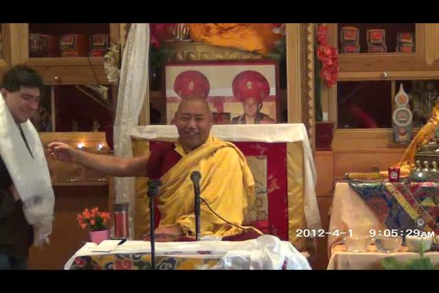 Khenchen Rinpoche - Day 3, 1 of 4wma