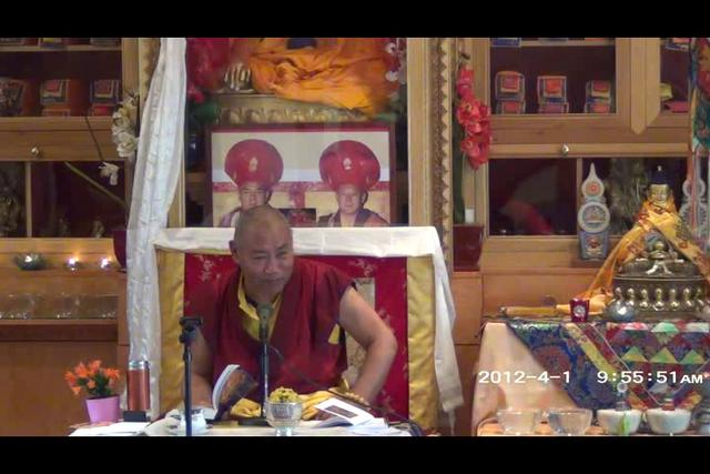 Khenchen Rinpoche - Day 3, 2 of 4wma