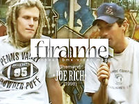 "FRAME BMX ""Joe Rich Interview •the launch of Terrible one - T1•"""