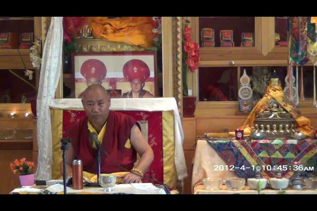 Khenchen Rinpoche - Day 3, 3 of 4wma