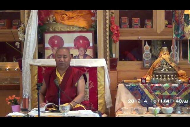 Khenchen Rinpoche - Day 3, 4 of 4wma