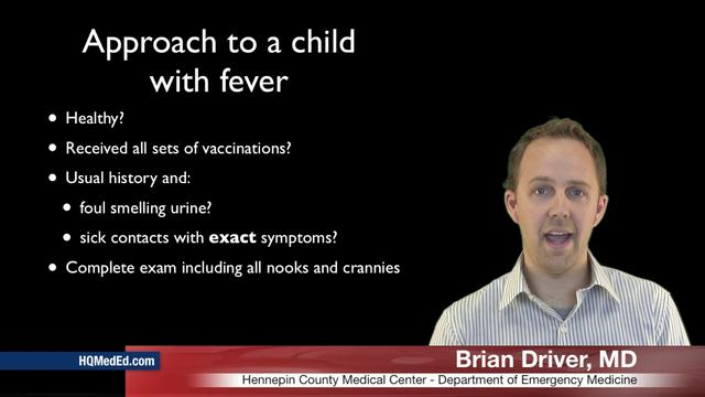 Pediatric Fever