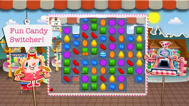 Candy Crush Saga, promotion Video for King.com