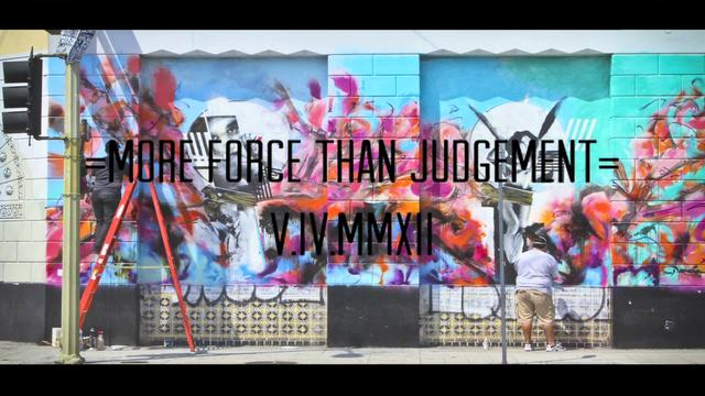 """POESIA """"MORE FORCE THAN JUDGEMENT"""""""