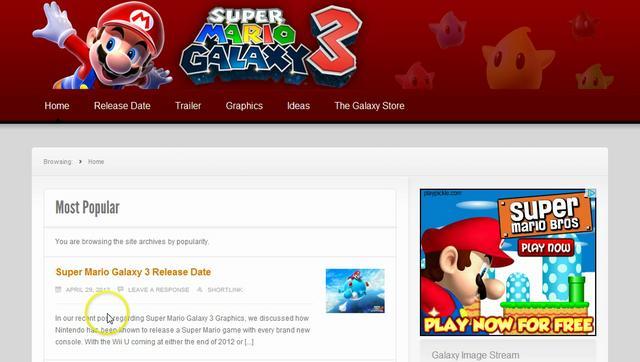 Super Mario Galaxy 3   Super Mario Fanaxy Wiki   Fandom powered by ...
