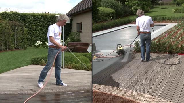 Keukenkasten Met Rolluiken : Hoe olie je een houten terras met een ...