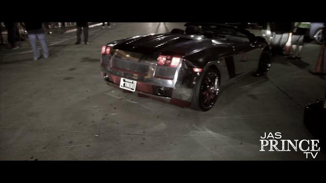 Jas Prince Mirror Finishes his Lambo