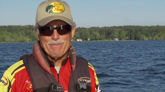 Texas Freshwater Fishing Hall of Fame Inductee Tommy Martin, image from Vimeo