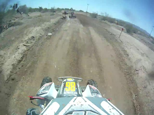 Dustin Clark Pro ATV speedworld. GOPRO