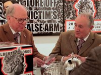 Gilbert & George 'London Pictures' Exhibition and Book Signing