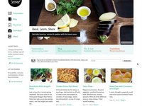 foodsense.is : responsive webdesign