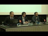 Quim Torra, Xavier Pla i Maria Bohigas parlen de Sales