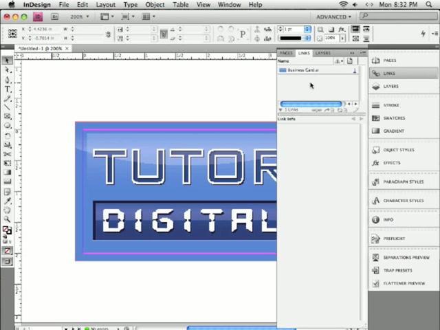 InDesign - Vincular objetos desde Illustrator