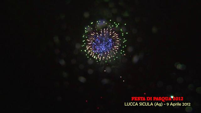 LUCCA SICULA (Agrigento) - L ARTIFICIOSA dei F.lli DI CANDIA (2012)