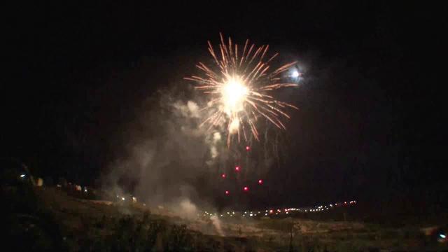 LUCCA SICULA (Agrigento) - LA ROSA Fireworks (2012)