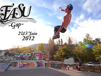 Festival des Arts et Sports Urbains. Un évènement sur le nouveau skate park de Gap, qui aura lieu le 2 et 3 juin 2012