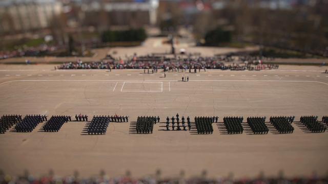 Короткометражный фильм Парад Победы 9 мая, город Сыктывкар