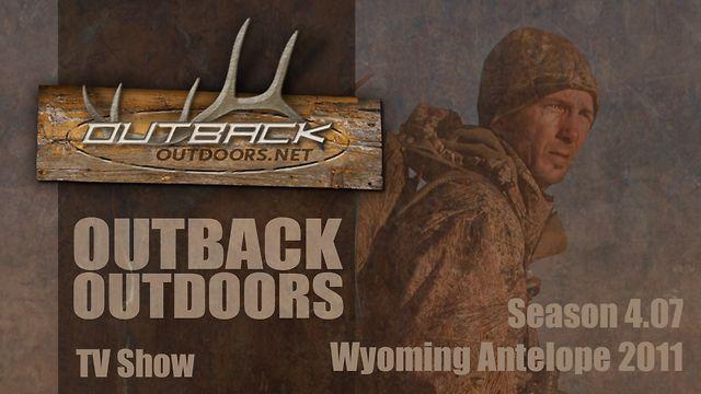 Outback Outdoors Wyoming Antelope 2011 - Season 4.07