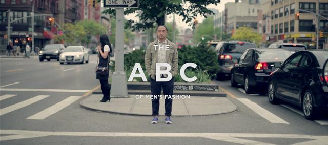 THE ABC OF MENS FASHION - JEFF STAPLE