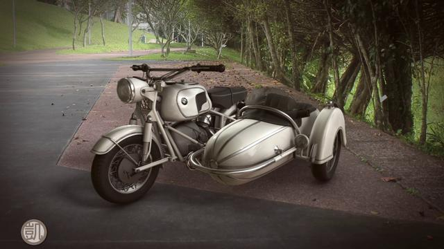 1968 R69s With Rare Steib S250 Sidecar
