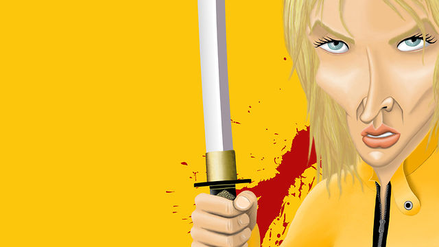 Caricatura Uma Thurman (Kill Bill) on Vimeo Uma Thurman