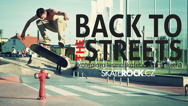 Skaterock.cz Back to the Streets video 2012