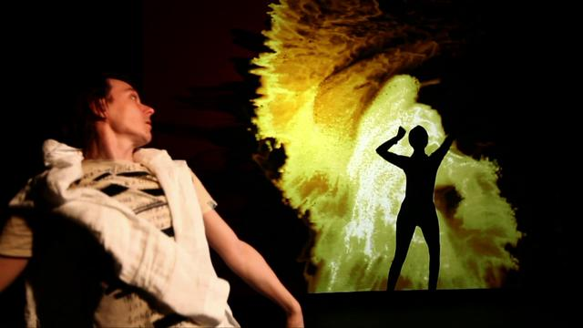 Fluid - interactive dance performance