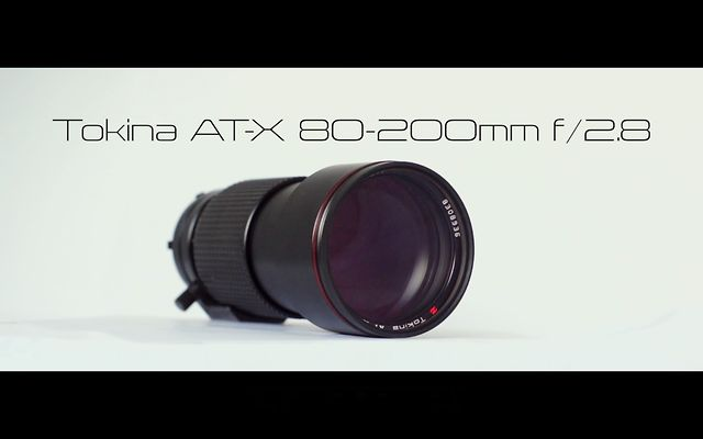 TOKINA AT-X 80-200mm f/2.8 LENS TEST | Vintage Lenses for video DSLRs