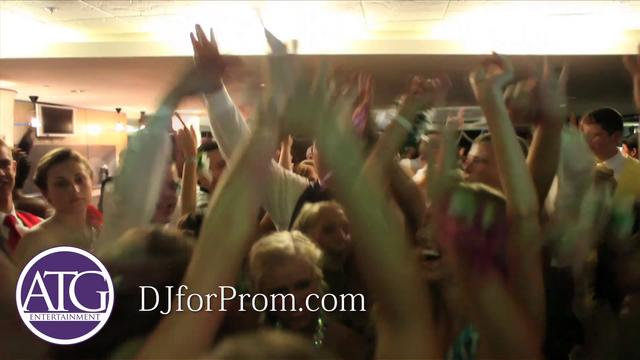 Charlotte DJ Mitch Henson at Porter Ridge High School's Prom