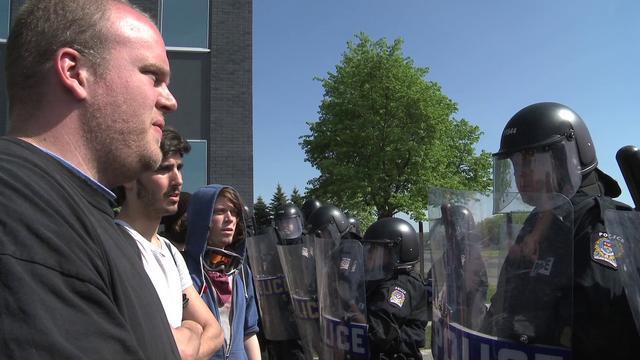 Manif-Action à Longueuil - 14 mai 2012