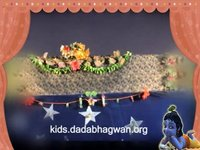 A fun and music filled puppet show that show cases our beloved Lord Krishnas with His favourite gopis dancing to the tunes of melodious bhajans and playing pranks.
