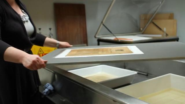 Conservation at the National Library of Ireland