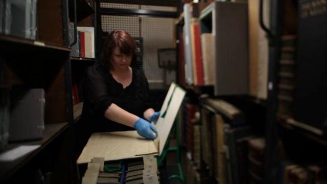 National Library of Ireland - handling the collection