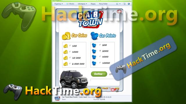 Car town cheats free coins points promo codes hack 2012 for Big fish casino promo code free chips