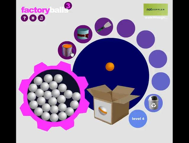 Play Factory Balls 3 Game