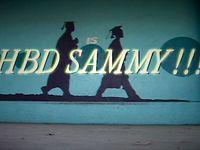 HAPPY BIRTHDAY SAMMY!!!