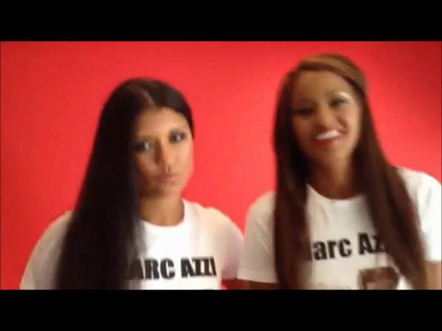 Marc Azzi Brazilian Blowout Keratin hair Treatment - US Models Claudia