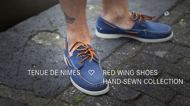 Tenue de Nîmes loves the Red Wing Shoes hand-sewn collection