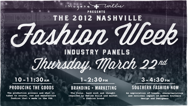 Fashion Industry Panel: SOUTHERN FASHION NOW