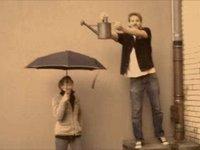 Sensor-Filled Umbrella Turns Raindrops Into A Retro 8-Bit Soundtrack
