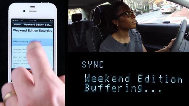 NPR News App for Ford SYNC