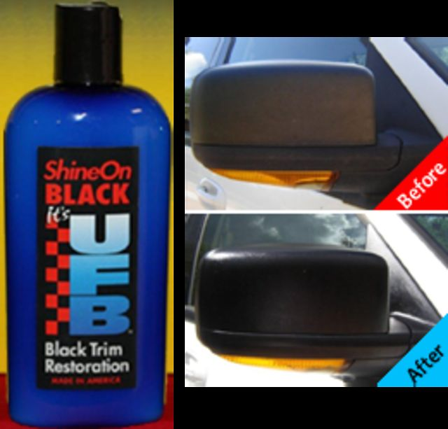 Restore faded auto trim back to black on vimeo Black interior car trim restorer